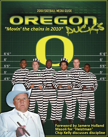 Oregon Ducks unofficial media guide