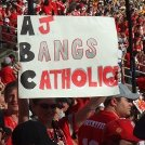 AJ Bangs Catholics