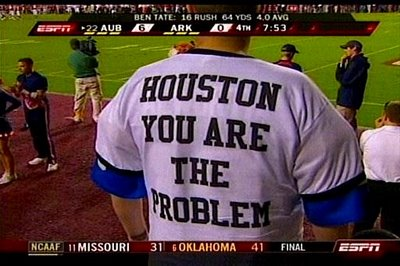 Houston is the problem