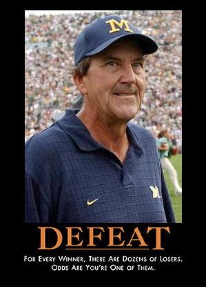 Lloyd Carr Defeat