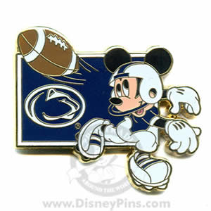 Mickey Mouse quarterback