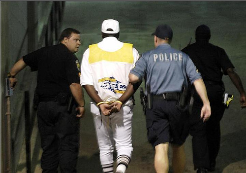 SEC Referee Arrested
