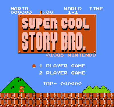 Super Cool Story Bro.