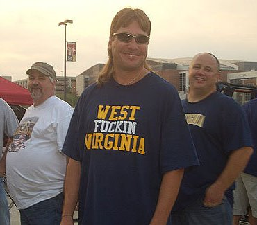 West Fuckin' Virginia mullet